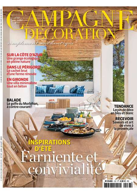 Magazine campagne decoration abonnement