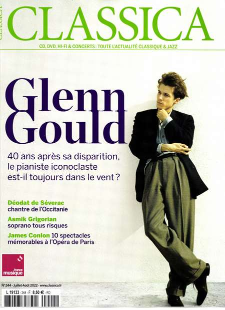 Abonement CLASSICA - Revue - journal - CLASSICA magazine