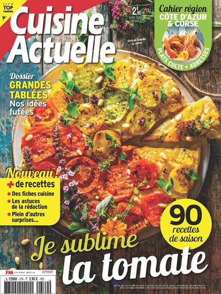 MAGAZINE CUISINE ACTUELLE + HS