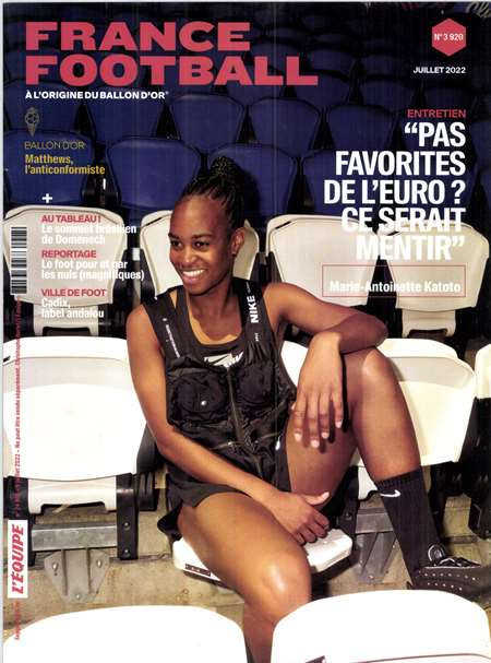 Abonnement FRANCE FOOTBALL - Revue, magazine, journal FRANCE FOOTBALL - France Football, le magazine incontournable des amoureux du foot, se reinvente ! Plus moderne, plus incisif, il vous offira chaque semaine le Grand debriefe de la Ligue 1 et des 4 grands championnats europeens, ainsi que de nouvelles rubriques (...)