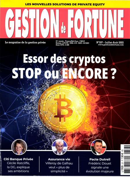 Abonement GESTION DE FORTUNE - Revue - journal - GESTION DE FORTUNE magazine