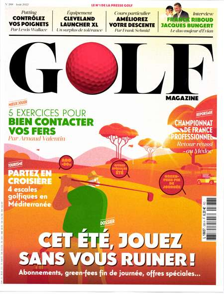 Abonement GOLF MAGAZINE - Revue - journal - GOLF MAGAZINE magazine