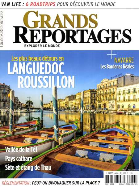 Abonement GRANDS REPORTAGES - Revue - journal - GRANDS REPORTAGES magazine
