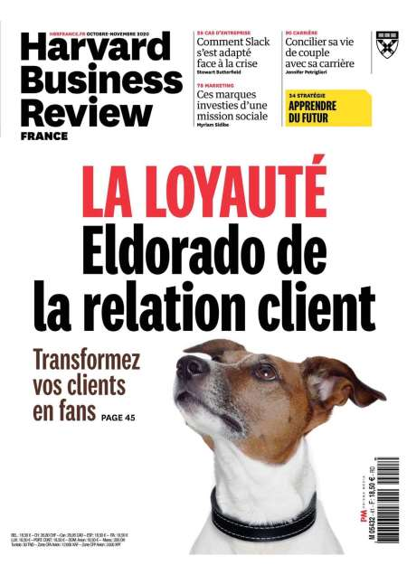 Abonement HARVARD BUSINESS REVIEW - Revue - journal - HARVARD BUSINESS REVIEW magazine