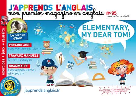 Abonement J'APPRENDS L'ANGLAIS - Revue - journal - J'APPRENDS L'ANGLAIS magazine