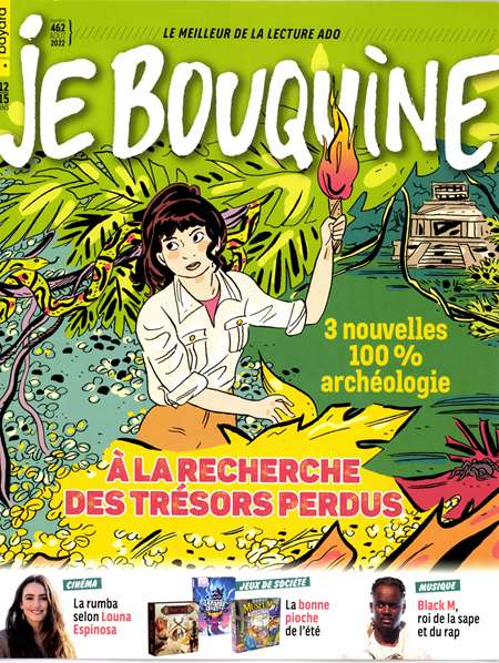 Abonement JE BOUQUINE - Revue - journal - JE BOUQUINE magazine
