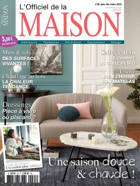 Magazine L'Officiel De La Maison - Maison/Deco/Jardin Bimestriel