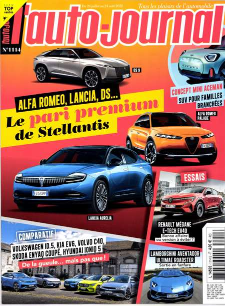 Abonement L'AUTO JOURNAL+ 5 HS - Revue - journal - L'AUTO JOURNAL+ 5 HS magazine