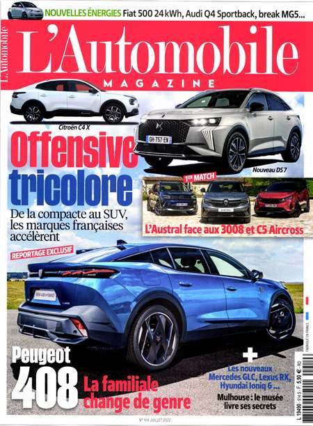 Abonement L'AUTOMOBILE MAGAZINE - Revue - journal - L'AUTOMOBILE MAGAZINE magazine