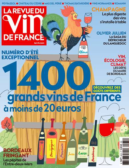 Abonement LA REVUE DU VIN DE FRANCE - Revue - journal - LA REVUE DU VIN DE FRANCE magazine