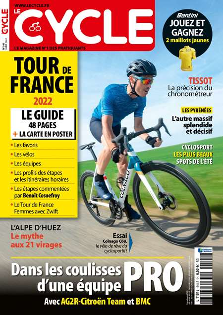Abonement LE CYCLE - Revue - journal - LE CYCLE magazine
