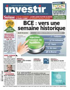 MAGAZINE INVESTIR LE JOURNAL DES FINANCES