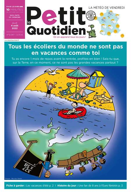 LE PETIT QUOTIDIEN + MY LITTLE WEEKLY
