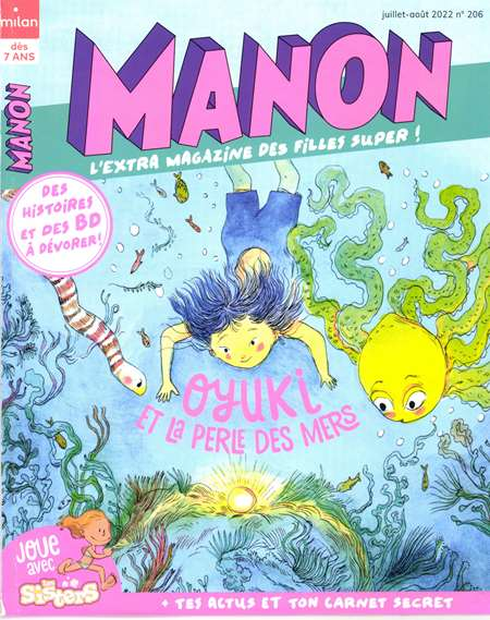 Abonement MANON - Revue - journal - MANON magazine