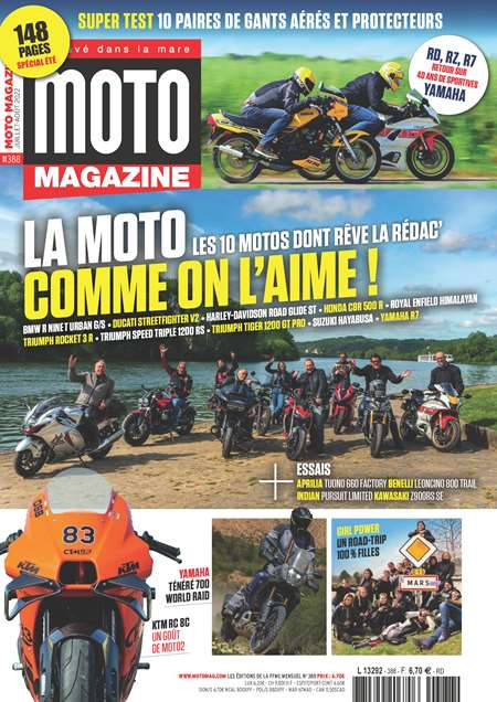 Abonement MOTO MAGAZINE - Revue - journal - MOTO MAGAZINE magazine