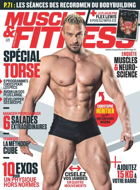 Abonement MUSCLE ET FITNESS - Revue - journal - MUSCLE ET FITNESS magazine