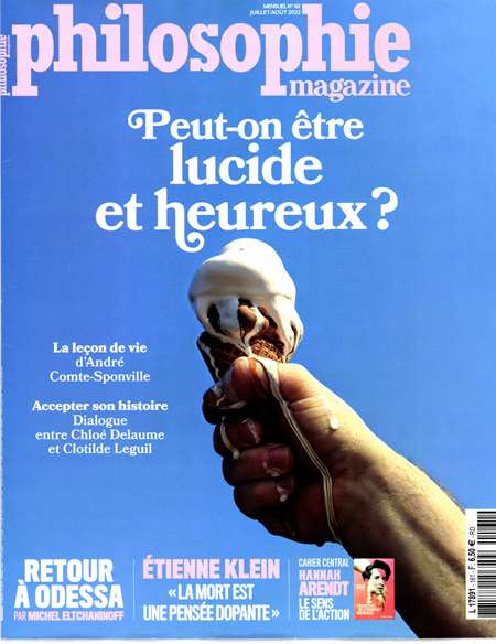 Abonement PHILOSOPHIE MAGAZINE - Revue - journal - PHILOSOPHIE MAGAZINE magazine