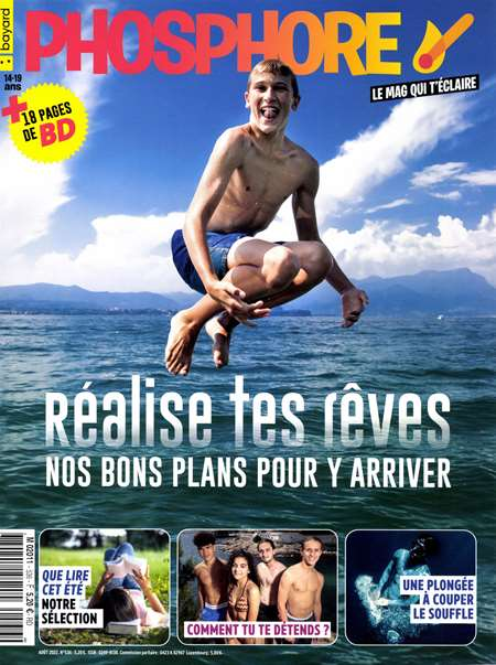 Abonement PHOSPHORE - Revue - journal - PHOSPHORE magazine