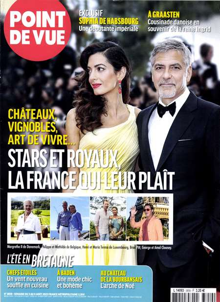 Abonement POINT DE VUE - Revue - journal - POINT DE VUE magazine