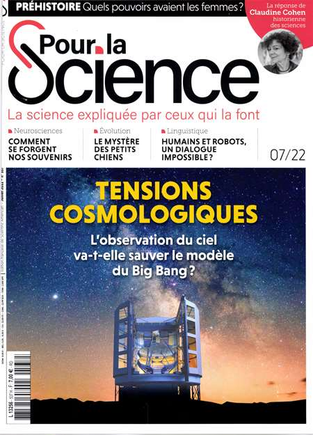 Abonement POUR LA SCIENCE + HS - Pour la Science, le magazine de reference de l'actualite scientifique.En direct des laboratoires du monde entier, Pour la Science vous offre chaque mois une information rigoureuse et approfondie sur les decouvertes scientifiques (...)