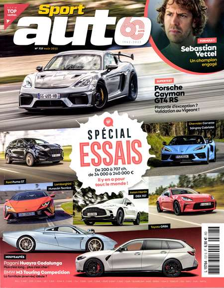 Abonement SPORT AUTO - Revue - journal - SPORT AUTO magazine