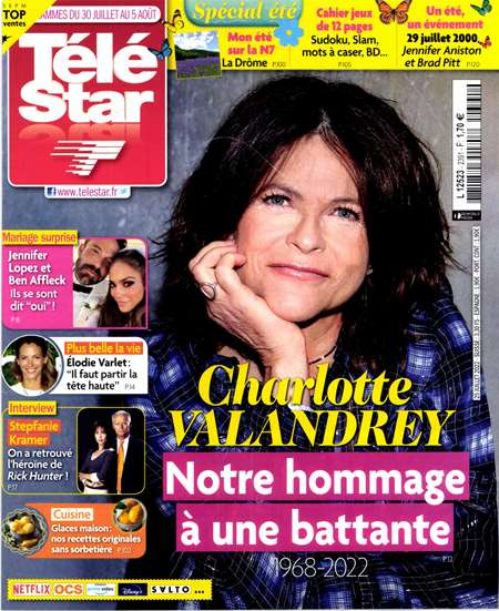 Abonement TELE STAR - Revue - journal - TELE STAR magazine