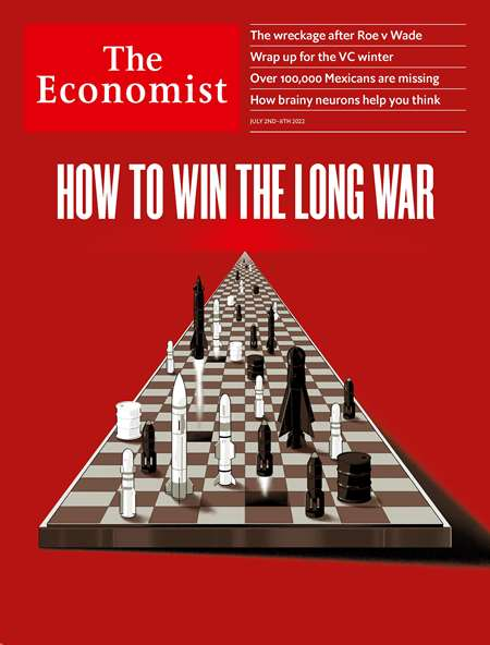 Abonnement THE ECONOMIST - Revue, magazine, journal THE ECONOMIST - The Economist sets a different standard. As the next generation of opinion leaders, it's important you stay up-to-date on what's happening around the globe. Each week, The Economist spans everything from European and world news, (...)