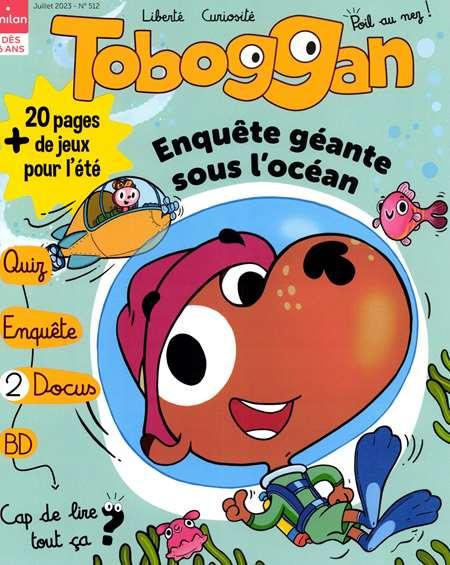 Abonnement TOBOGGAN + HS - Revue, magazine, journal TOBOGGAN + HS - De 5 a 8 ans.Votre enfant court plein d'espoir vers la boite aux lettresÃ'Â : il est impatient d'y decouvrir son TobogganÃ'Â ! Petillant comme un bonbon acidule, le magazine a le gout de la bonne humeur et le serieux du a son lecteur. Morale,(...)