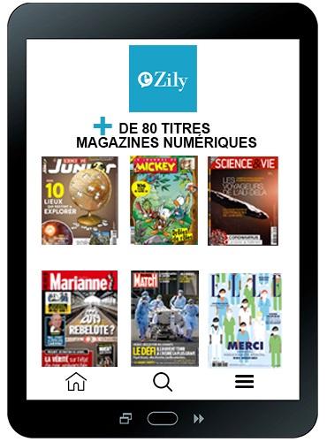 APPLI EZILY - Votre kiosque numérique