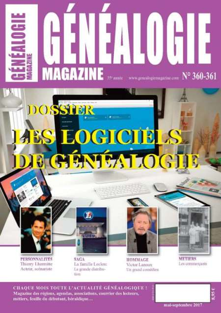 GENEALOGIE MAGAZINE
