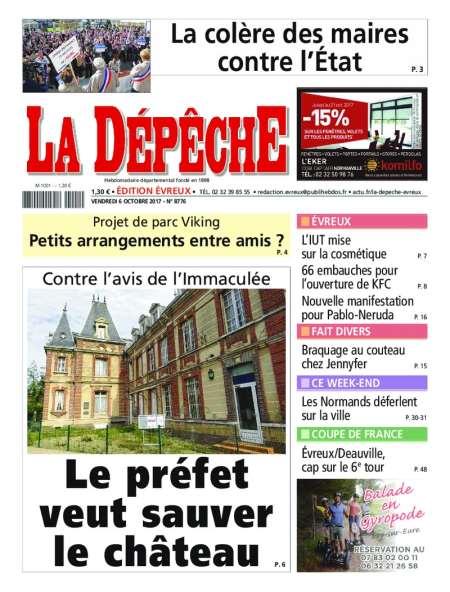 LA DEPECHE (EVREUX)