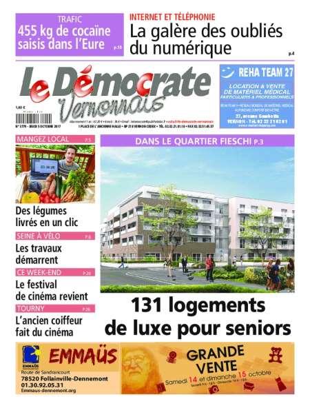LE DEMOCRATE VERNONNAIS
