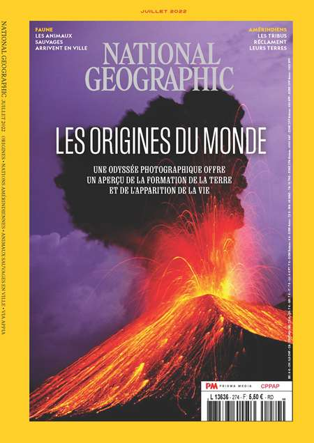 NATIONAL GEOGRAPHIC FRANCE + HS