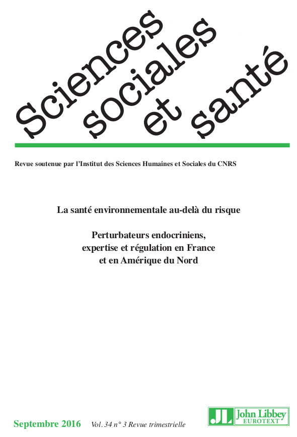 SCIENCES SOCIALES ET SANTE